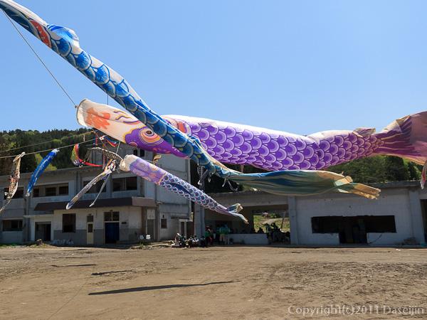 120513ボランティア・旧箱崎小学校