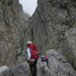 雨の剱岳山頂~八ッ峰・剱岳(3)