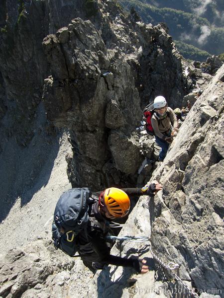110924剱岳カニの横ばい