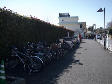上野公園口駐輪場
