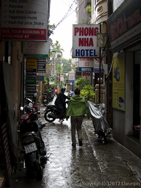 121116ベトナム・ビンジュオンの路地