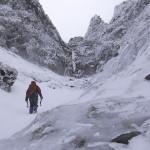 裏同心ルンゼで凍える…~八ヶ岳・アイスクライミング(2)